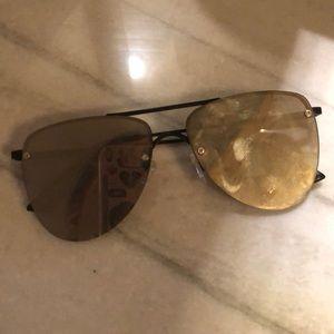 Le Spec The Prince 57mm Aviator Sunglasses